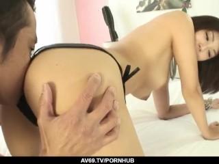 amazing japanese sex video with superb azumi harusaki