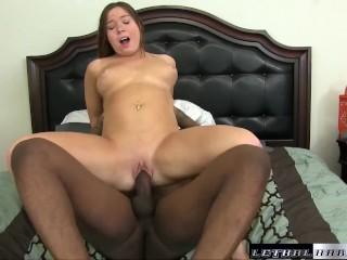 Teen slut Tffany love being fucked by BBC