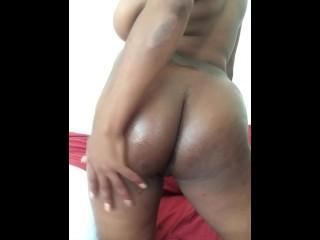 Ebony with big tits