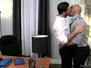 Watch the full movie ExtraBigDicks Mike DeMarko Cums On Latino Employee on Romeohub, the best completely FREE gay porn website on the web
