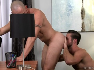 ExtraBigDicks Mike DeMarko Cums On Latino Employee full video on Romeohub.com, the best free gay porn on the web