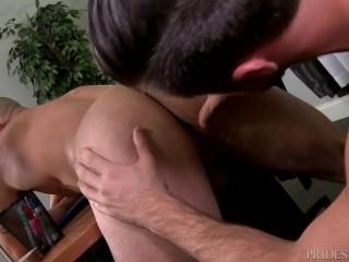 ExtraBigDicks Mike DeMarko Cums On Latino Employee full movie on Romeohub, the best XXX gay porn on the web