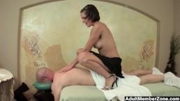 AMZ - Busty Teen's Massag