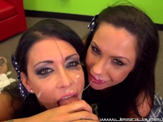 sexy pornstar jessica jaymes and kirsten price are two naughty schoolgirls