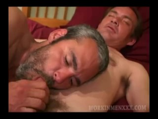 Mature Amateurs Barry and Zack Suck Dick