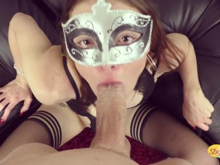MASKED POV SLUT ENJOYING HER MAN IN MISSIONARY
