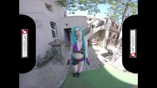 VR Cosplay X Emo Alessa Savage Will Get Best Of You VR Porn