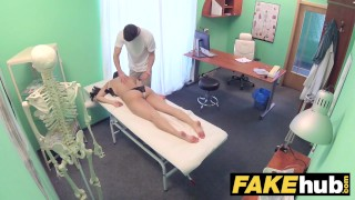 Fake Hospital Cock hungry oriental French chick gets deep pussy fucking  hardcore fakehospital real sex asian oriental babe big tits blowjob doctor cumshot uniform pov reality hospital french czech