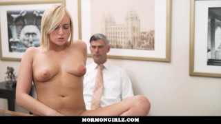 MormonGirlz-Teen with big boobs ordered to masturbate