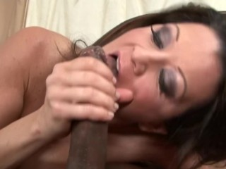 cougar with huge tits needs big black cock in her pussy