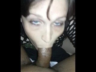 First time sucking a BBC
