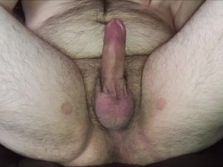 jeromekox - masturbating to orgasm with a nice view of my balls!