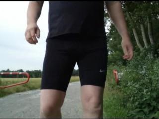 Jogging im Neuen Outfit