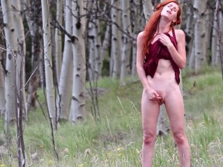Mountain Moans | My Premium Self-Shot Porn: freckledred.manyvids.com