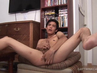 Twink Latino Joel Fingers and Strokes