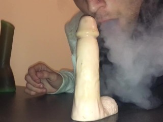 420 while I suck your cock