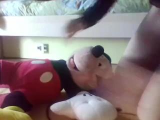 mi scopo topolino-i fuc my mickey mouse's puppet