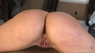 Sexual Objectification  pain slut big ass nipple clamps high heels pain slave submission gag leather fetish big dick curvy brunette bondage sexandsubmission ball gag abella danger
