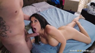 Reagan Foxx is a Hot MILF tired of cleaning up for her Stepson! - Brazzers