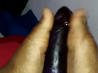 Mr. Purple Gets a Footjob