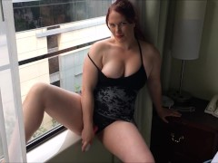 Movie:Redhead gets off in friends co...