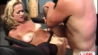 Intense Clinic Fucking Orgasm