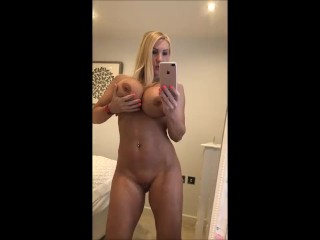 Nude selfie video showing off my body