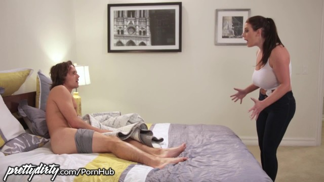 Image Caught Jerking off by Busty Maid Angela White!