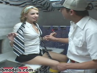 Innocent Teen LEXI BELLE Fucked for Pretty CUM REWARD! MUST SEE! A++