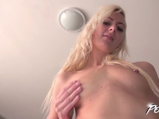 squirting blonde rock the cock when meet stranger with big cock