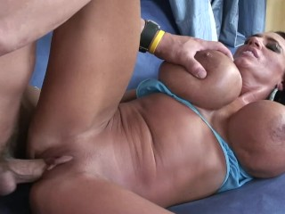 southern milf with huge tits takes monster cock