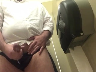 Me jerking off at work huge cumshot