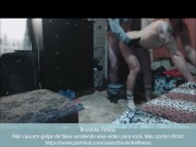 Real amateur fucking delivery pizza guy - hidden camera