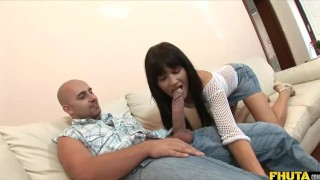 FHUTA - Dirty Teen Molly Gets Fucked Ass To Mouth