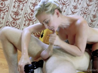 TheGapeGatsby has HIS ASS STRETCHED and DOUBLE FISTED by Cheri Deville