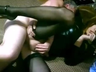 Daddy fucks Russian tranny whore vladasexytrans