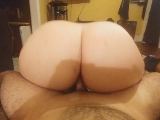 Best Big White Ass Girl Sucks & Fucks