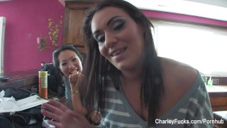 Charley Chase and Asa Akira talk about anal play  bts pornstar big tits babe french funny asian pornstar thick puba tattoo busty japanese hottie butt plug big boobs sex toys adult toys charleychase bts charleyfucks