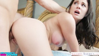 Hottie Kymberlee Anne gets thromped by a massive cock - Naughty America