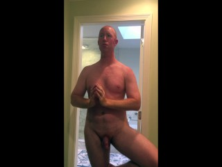 Naked Yoga with Cute Ginger
