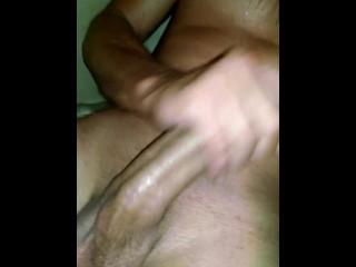 Big dick, masterbation
