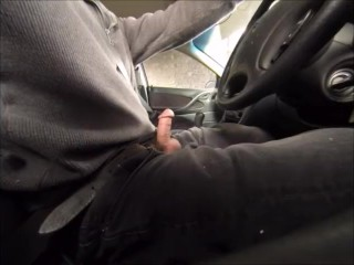 Driving with my cock out