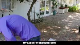 MyBabySittersClub - Lucky Teen Babysitter Fucks Hot Boss