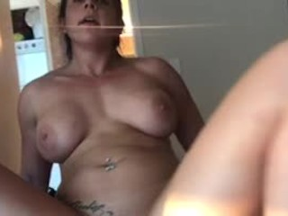 Muscle Girlfriend Squirts All Over me