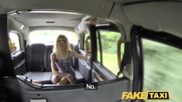Fake Taxi Thin petite blonde takes big dick