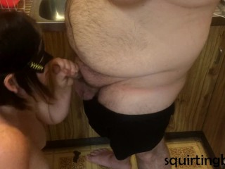 Blowjob Time For hubby