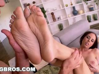 BANGBROS - Brandy Aniston's iFuckable Sexy Feet (fj9383)