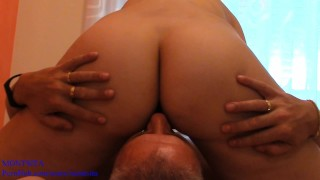 Facesitting - Pussy Licking. Female perspective POV - Montsita