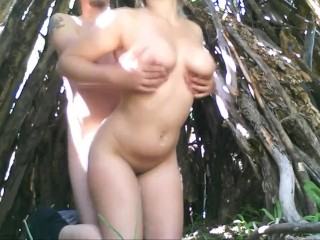 Outdoors Fuck in the Forest