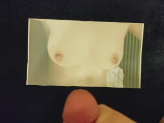 A Thick-Cummed Tribute To My Friend's Amazingly Nipples